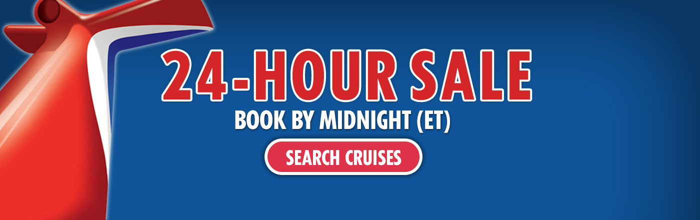 24-Hour Sale - SEARCH CRUISES