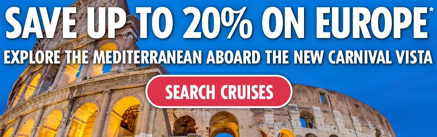 Save Up to 20% on Europe - SEARCH CRUISES