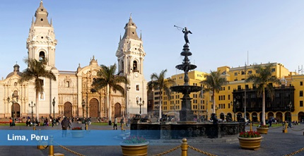 <h3></h3><p>Main Square in Lima</p>