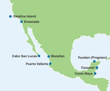 - Mexico Region Map