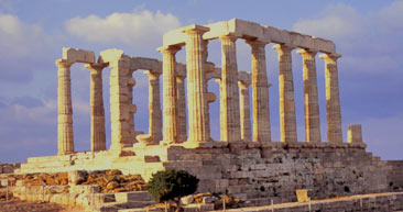 visit ancient greek pillars in athens