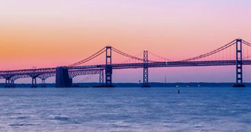 take in the sights of the chesapeake bay bridge