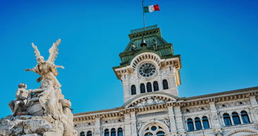visit the historic piazza unita d'italia in trieste