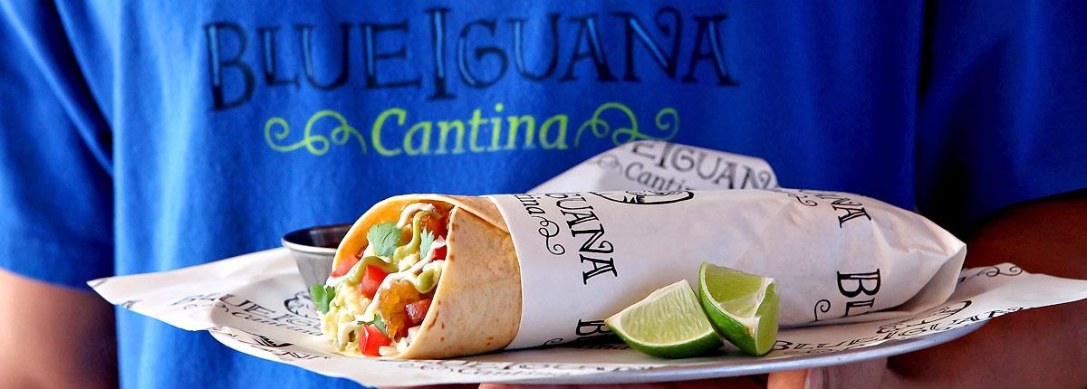 Blue iguana cantina mexican dining