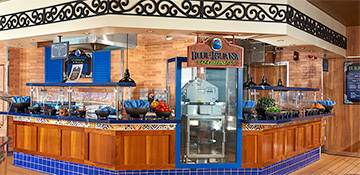 Mexican food on cruise
