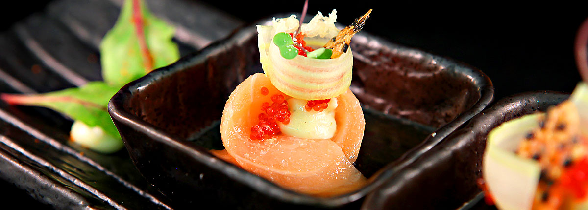 Bonsai sushi on Carnival Cruise Lines