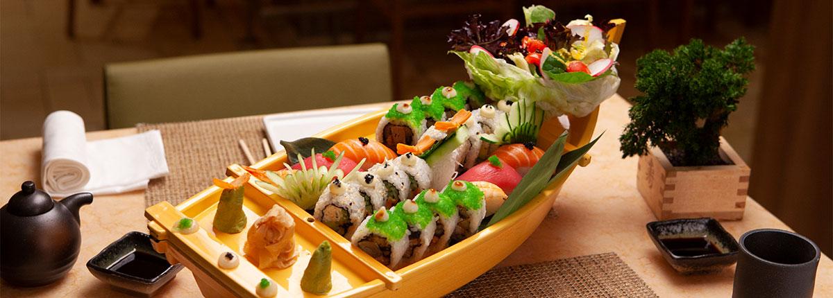 Bonsai sushi ship