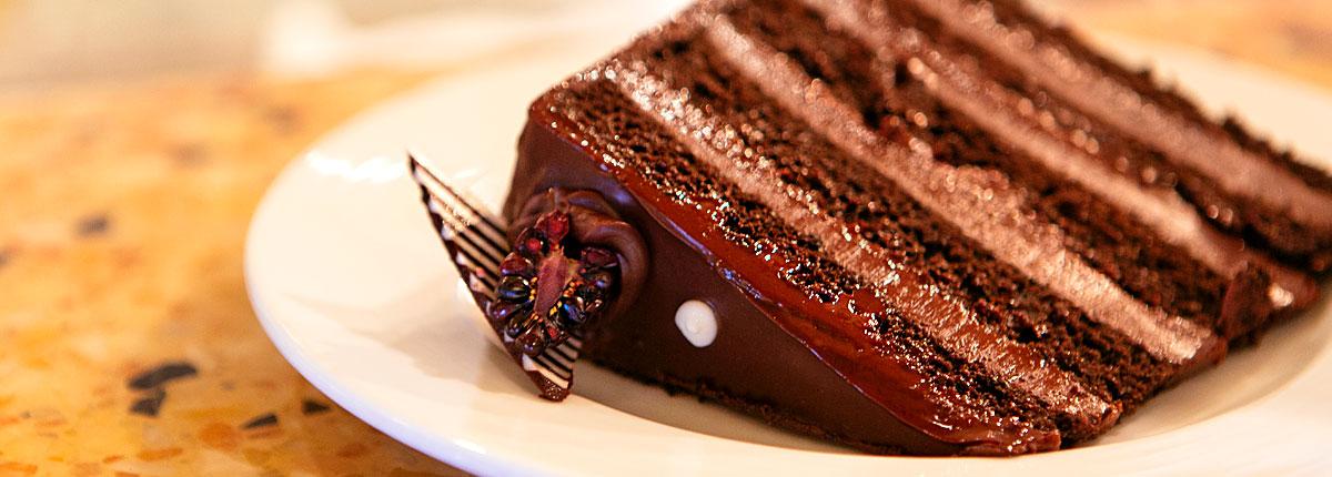 Enjoy homemade pastries at coffee bar