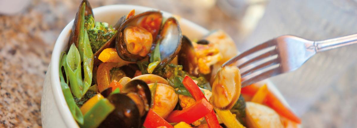 Delicious stir-fry goodness