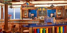 blue iguana bar on carnival cruises