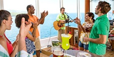 the red frog rum bar on carnival cruise lines