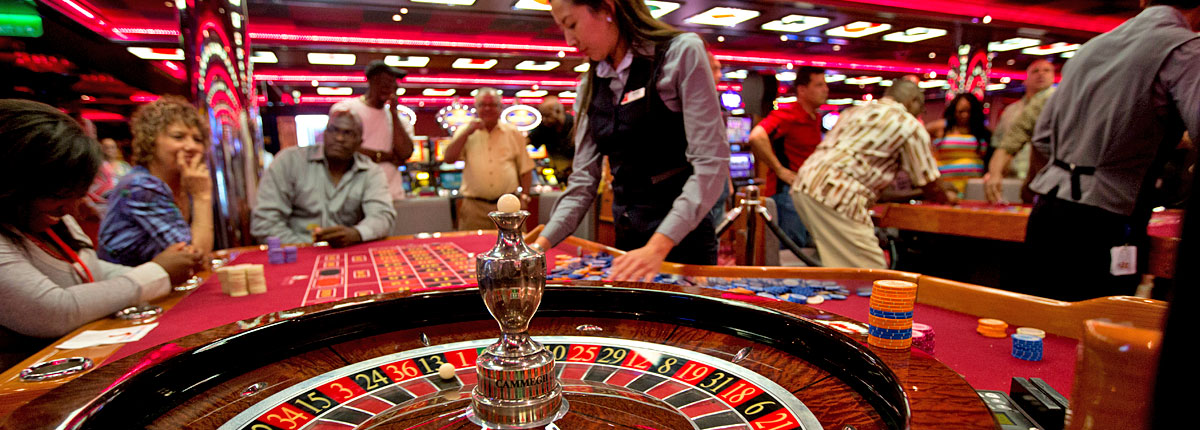 test your odds with roulette on carnival cruises