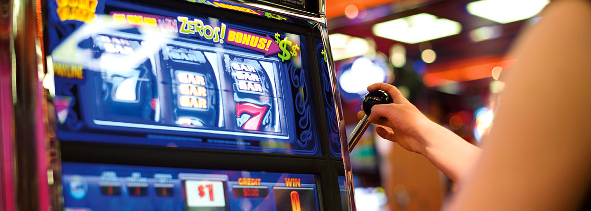 test your odds on the slot machines on carnival cruises