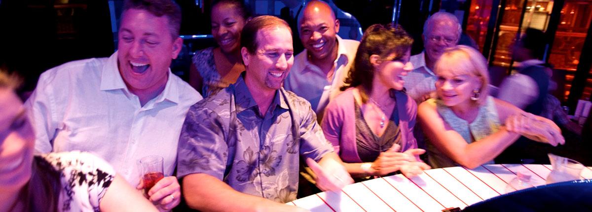 enjoy drinks at carnivals piano bar