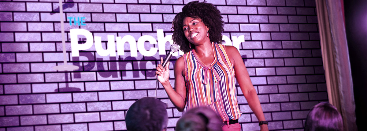 have some laughs at the punchliner comedy club