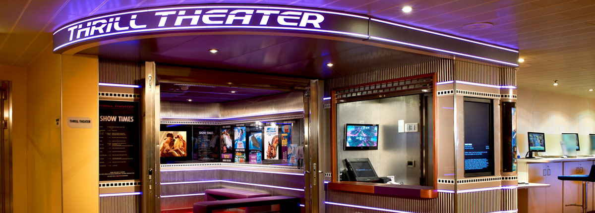 3d movies at carnivals thrill theater