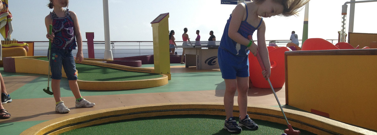 mini golf for kids