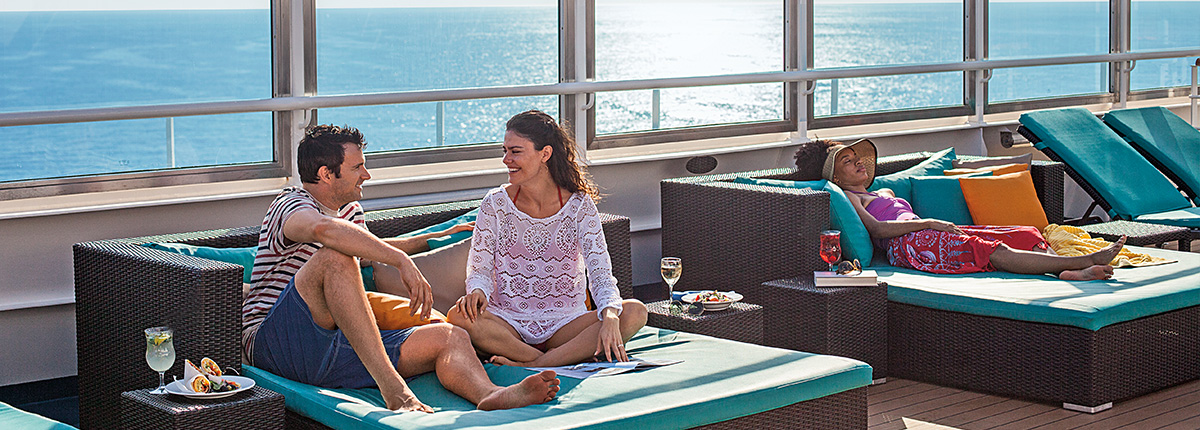 sun deck on carnival cruise lines