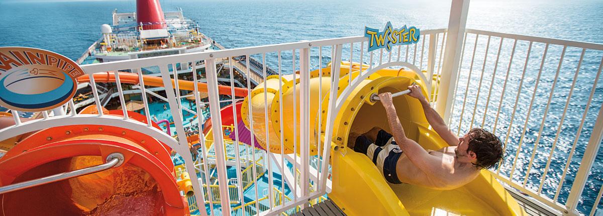 cruise ship waterpark