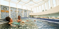 Relax at the Cloud 9 Spa Thalassotherapy pool